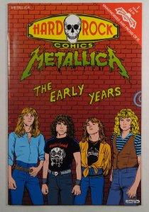 Hard Rock Comics #1 Metallica Revolutionary Comics 1992