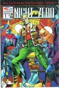 Night Zero #1 VF; Fleetway Quality | save on shipping - details inside