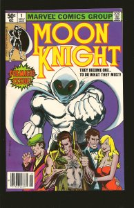 Marvel Comics Moon Knight  Vol 1 No 1 November 1980