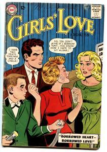 GIRLS' LOVE STORIES COMICS #95 comic book 1963-DC ROMANCE-EARLY 12