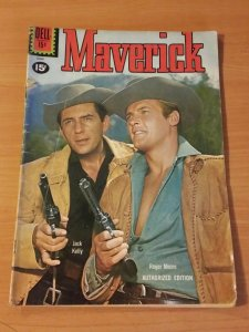 Maverick #15 ~ VERY GOOD VG ~ 1961 DELL COMICS