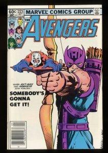 Avengers #223 NM 9.4 Newsstand Variant