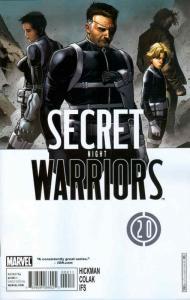 Secret Warriors #20 FN; Marvel | save on shipping - details inside