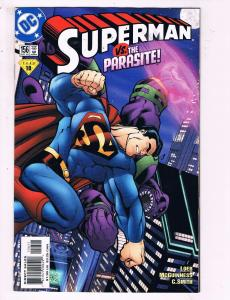 Superman #156 VF DC Vs The Parasite Comic Book Loeb 1999 DE10