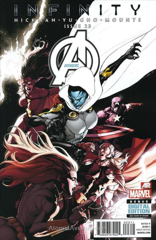 Avengers (5th Series) #23 VF/NM; Marvel | save on shipping - details inside