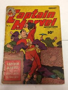 Captain Marvel Adventures 32 Gd/Vg 3.0 Good / Very Good Extra Staples Removed