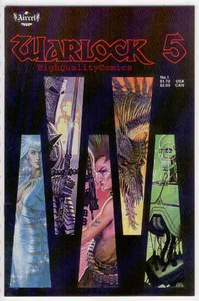 WARLOCK 5 #1, NM, Aircel, Gordon Derry, 1986, more indies in our store