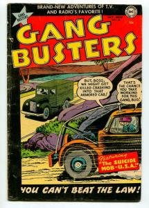 GANG BUSTERS #36 1953-DC-VG