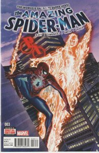 Amazing Spider Man (Vol.3)# 3 Human Torch appearance