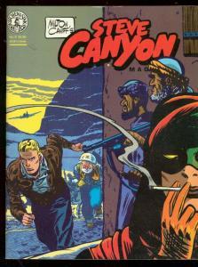 STEVE CANYON MAGAZINE #4 1983-MILTON CANIFF-KITCHEN SNK VF