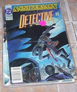Detective Comics #627 (Mar 1991, DC) BATMAN  600TH ANNIVERSARY ISSUE