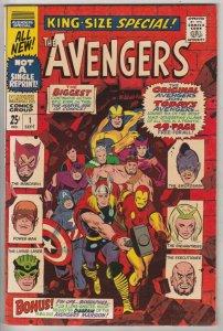 Avengers, the King-Size Annual #1 (Nov-67) FN Mid-Grade Avengers
