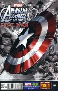 Marvel Universe Avengers Assemble: Civil War #2 VF/NM; Marvel | save on shipping
