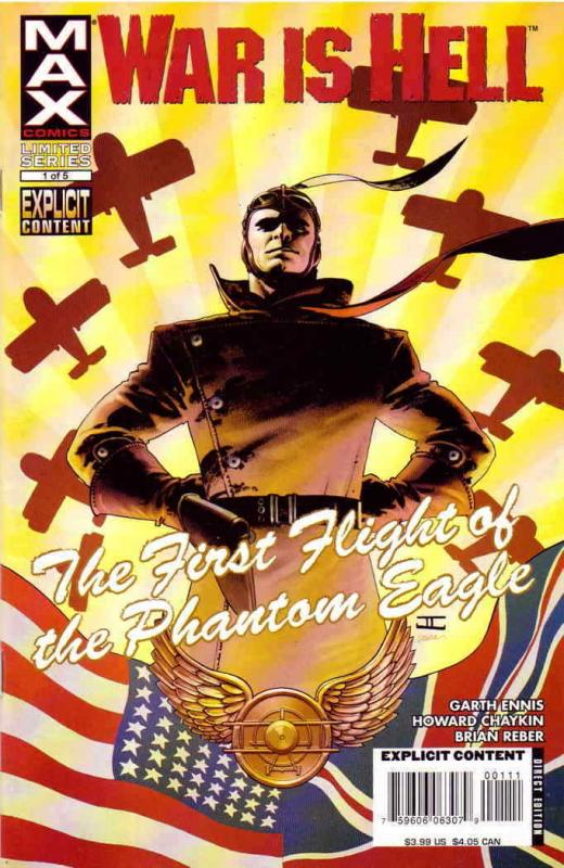 War is Hell: The First Flight of the Phantom Eagle #1 VF/NM; Marvel | save on sh