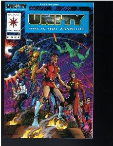 Unity #0 (Valiant, 1992)