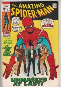 Amazing Spider-Man #87 (Aug-70) VF/NM High-Grade Spider-Man