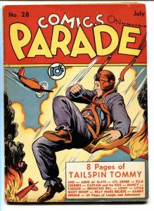Comics on Parade #28-1940-Tailspin Tommy-Son of Tarzan-Early Comic Book
