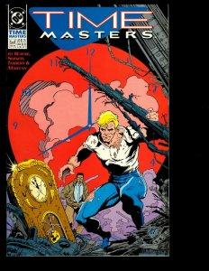 10 Time Masters DC Comics #1 2 3 4 5 6 7 8 R.E.B.E.L.S. '09 Teen Titans '99 GK24
