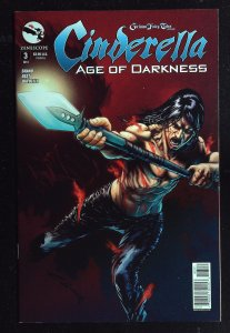 Grimm Fairy Tales presents Cinderella: Age of Darkness #3 Cover B (2014)