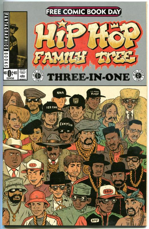 HIP HOP Family Tree Three-in-one, NM, FCBD, 2015, more Promo/items in store