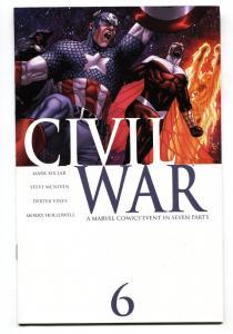 Civil War #6-2006-Marvel-Captain America-Spider-Man-Marvel Movie MCU