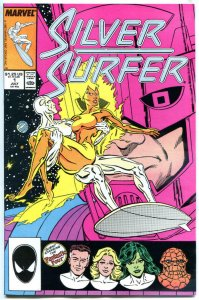 SILVER SURFER #1 2 3, 5 6, 9 10 11 12 13 14 15 16-24, 27, VF/NM 1987, 22 issues