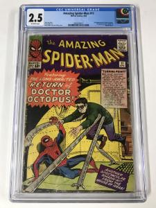 Amazing Spider-Man #11 CGC 2.5