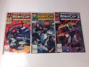 Robocop 2 1-3 Movie Adaption Near Mint Lot Set Run