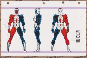 Official Handbook of the Marvel Universe Sheet- Mercurio