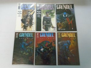 Grendel lot 18 different issues from 3 sets 8.0 VF