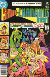 Shade, The Changing Man (1st Series) #2 FN; DC   save on shipping - details insi