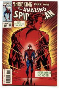 AMAZING SPIDER-MAN #392 NM- comic book ASM #50 SWIPE Marvel