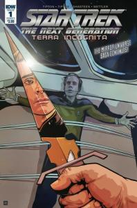 Star Trek The Next Generation Terra Incognita #1 Cvr A (IDW, 2018) NM
