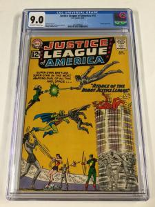 Justice League Of America 13 Cgc 9.0 Silver Age Dc Comics Ow/w Pages