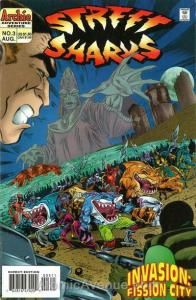 Street Sharks #3 VF/NM; Archie | save on shipping - details inside
