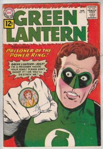 Green Lantern #10 (Jan-62) VG+ Affordable-Grade Green Lantern