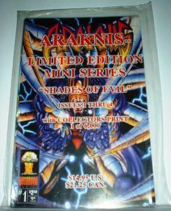 ARAKNIS SHADES OF EVIL LTD ED SET (1995 MUSHROOM)