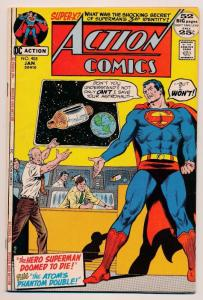 Action Comics Superman #408 Superman's 3rd Identity? ~ DC Comics  ~ FN (HX503)