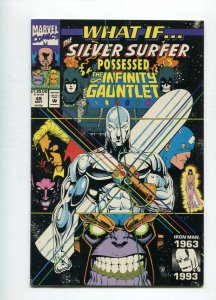 What if 49 NM-/NM Silver Surfer possessed Infinity Gauntlet
