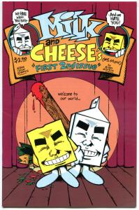 MILK and CHEESE First 2nd Issue #5, VF+, 1994, 1st, Dorkin, more indies in store