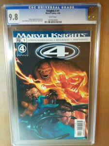 Knights 4 #1 CGC Universal Grade 9.8 NM/MT white pages