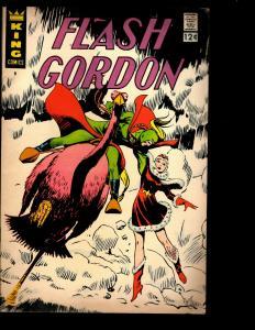 5 Comic Books King Flash Gordon # 8 + Phantom # 25 28 + Jungle Jim # 5 24 NE3