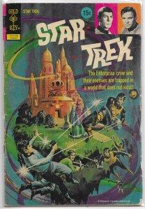 Star Trek   (Gold Key)   #15 (15c) GD