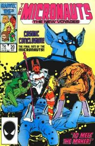 Micronauts (1984 series) #20, NM- (Stock photo)
