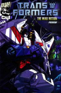 Transformers: The War Within Ashcan #1 VF/NM; Dreamwave | save on shipping - det