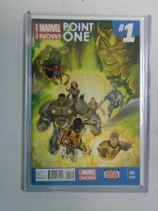 All New Marvel Now Point One #1 C 1st app. Kamala Khan 6.0 FN (2014 2nd Print)