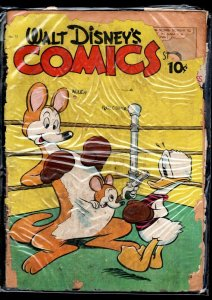 WALT DISNEY'S COMICS AND STORIES #75-'46-DONALD DUCK-MICKEY MOUSE-BARKS-GO P