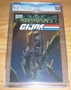 Infestation 2: G.I. Joe #1 CGC 9.2 retailer incentive variant - highest graded