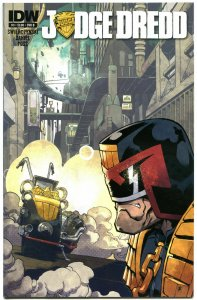 JUDGE DREDD #3 B, VF+, IDW,  2012, Sci-fi, Police, I am the Law, more in store