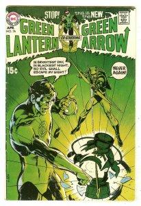 Green Lantern 76   Green Lantern/Green Arrow series begins   Neal Adams